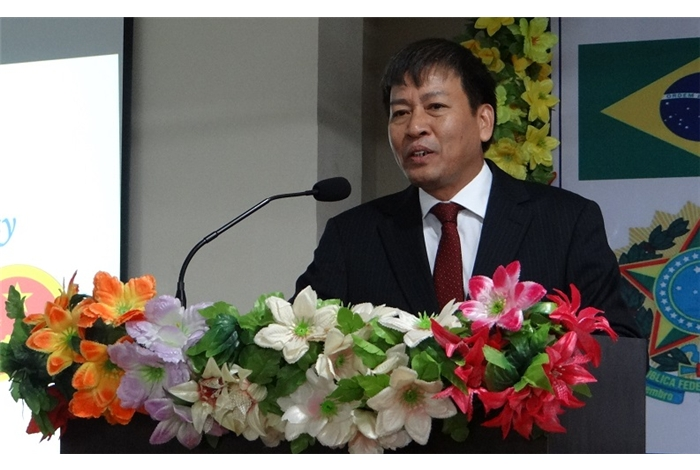 H.E. Mr. Nguyen Thanh Tan - Ambassador of Vietnam to India, 