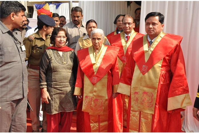 3rd Annual Convocation of GTU was organized on 16th January 2014 at GTU Chandkheda Campus.  H.E. Shrimati Kamla , Governor of Gujarat and Chancellor of GTU led the procession at the opening ceremony.